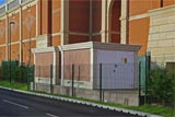 GRP Simulated Brick Enclosures Substations Glass Reinforced Plastic Fibreglass Kinpars Scotland UK