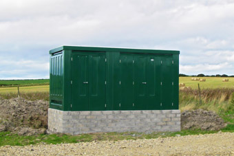 Grp Unit Substation Kiosks Series A Glass Reinforced