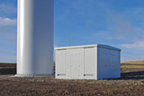 GRP Windfarm Substations Scotland UK