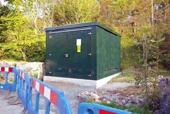 Grp Unit Substation Kiosks Plain Panel Glass Reinforced